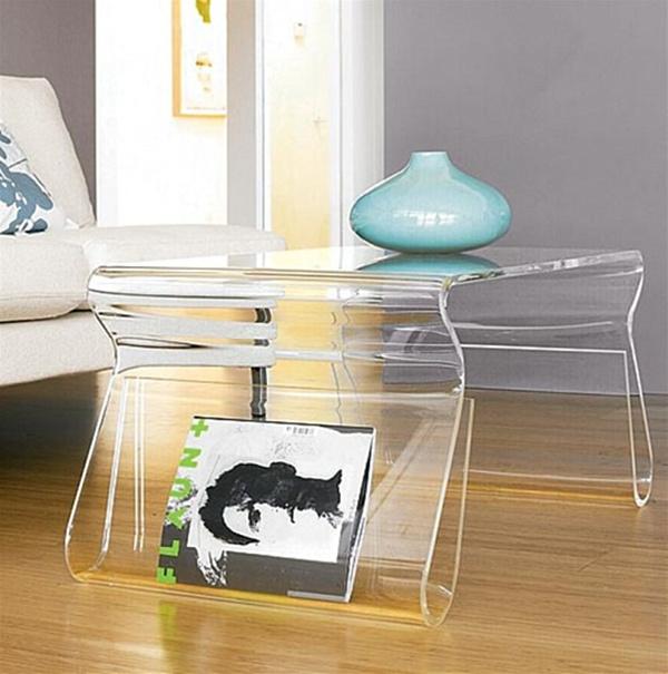 Акриловый столик в стиле Chic